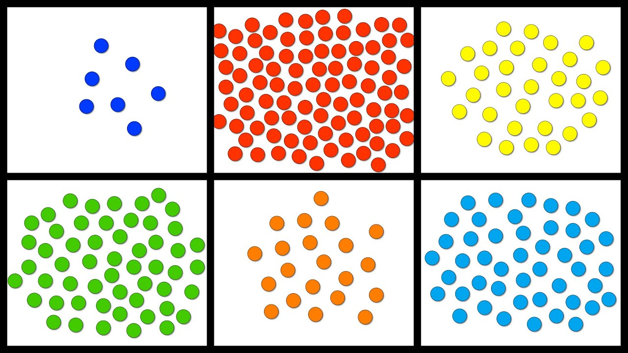Baby Math Counting 1 100 With Colorful Dots