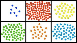 Baby Math: Counting 1-100 with Colorful Dots