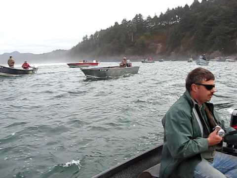 Fishing the mouth of the nestucca river in oregon where it for Oregon out of state fishing license