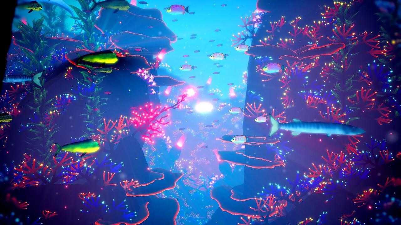 Neon Valley - (Koral) - Live Wallpaper 4K - YouTube