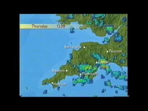 BBC Weather 1st October 1998