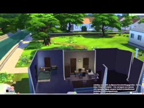 Илья Мэдддисон в The Sims 4 (Стрим 20/05/2015) #3