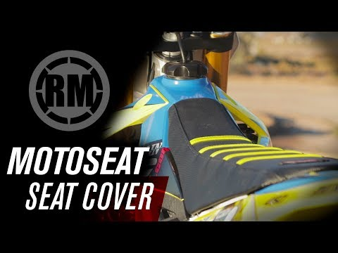 Motoseat Ribbed Traction Dirt Bike Seat Cover