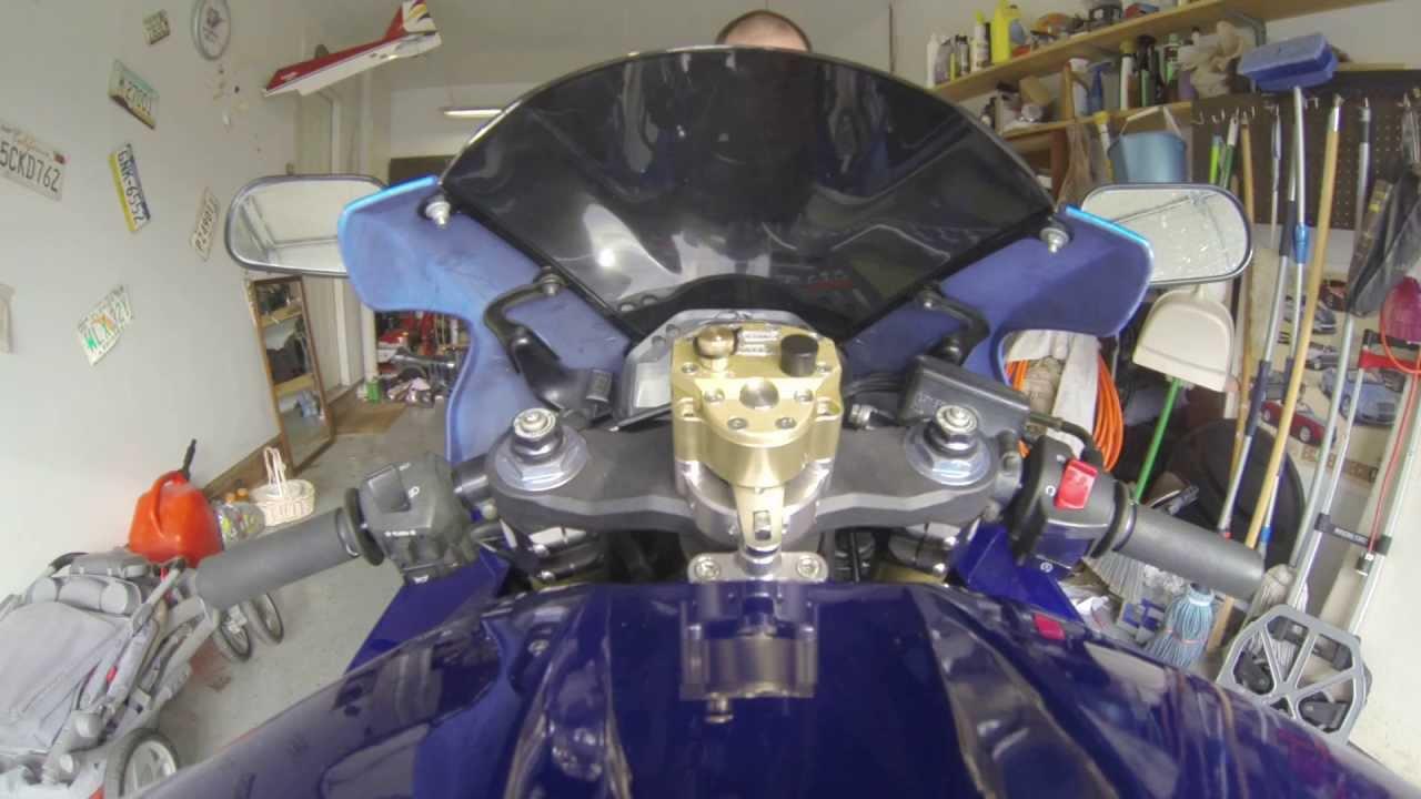 Scott S Steering Damper Install