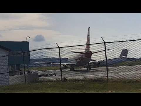 Air Inuit Boeing 737-2Q2C C-GMAI and Ameristar Jet Charter Douglas DC-9-15F at CYYT