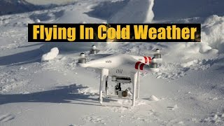 Drone Flying Tips - Flying in Cold Weather