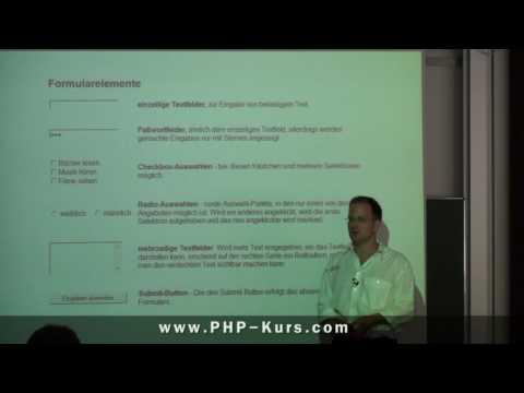 Formularelemente HTML - Http://www.PHP-Kurs.com