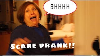 INSANE SCARE PRANK GONE WRONG!! (FIRST SHE CRIES...THEN SHE PEE'S ON HERSELF)
