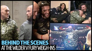 Best bits from behind the scenes at Wilder v Fury weigh-ins   No Filter Boxing