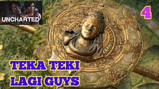 UNCHARTED THE LOST LEGACY WALKTHROUGH - TEKA TEKI LAGI GUYS - EP 4 (NO COMMENTATORY)