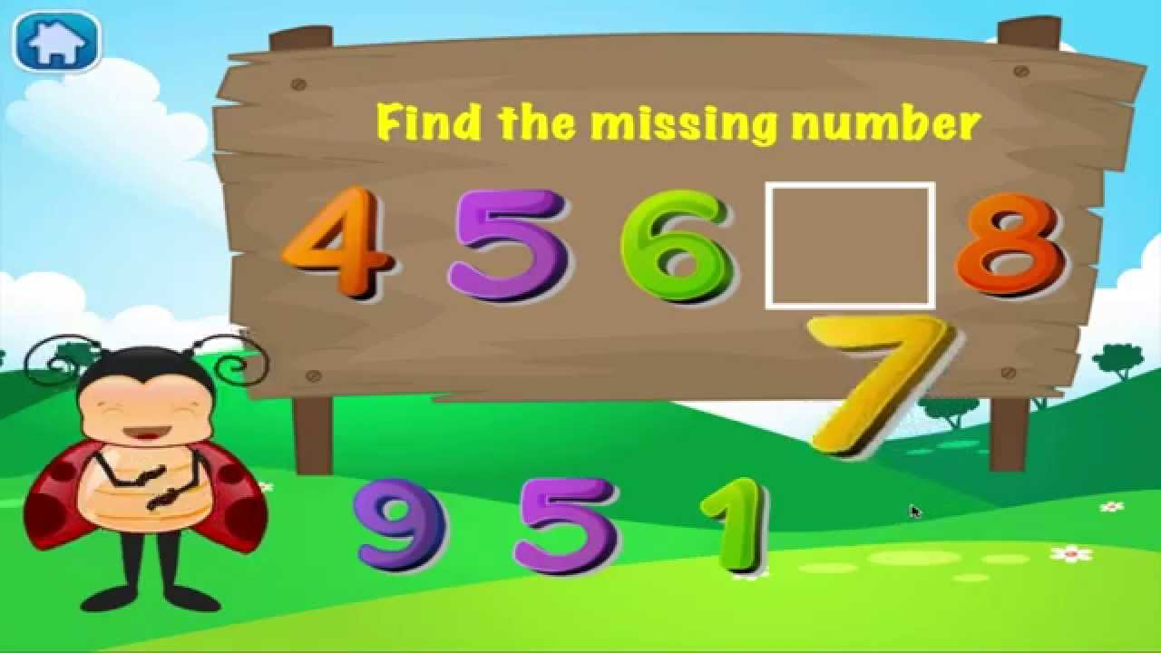 Bugs Math Preschool Learning: Kids Numbers and Math Free - YouTube