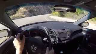 2015 Honda HPD Supercharged CR-Z - WR TV POV Canyon Drive