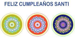 Santi   Indian Designs - Happy Birthday