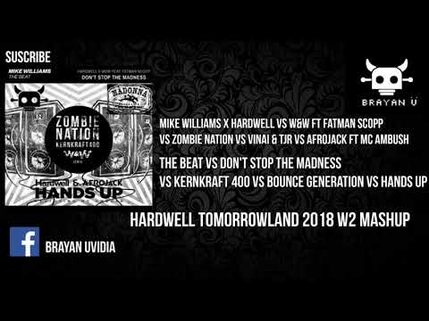 The Beat Vs Music Vs Don't Stop The Madness Vs Kernkraft 400 Vs Hands Up (Hardwell Mashup)