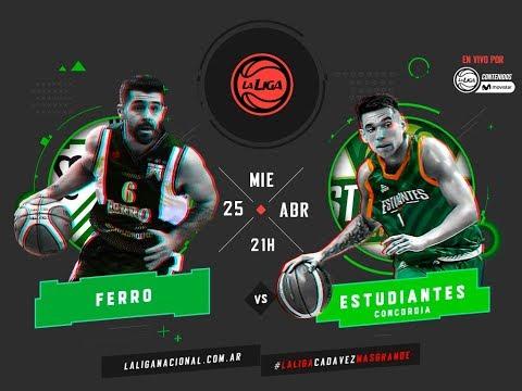 Liga Nacional: Ferro vs. Estudiantes | #LaLigaEnTyCSports