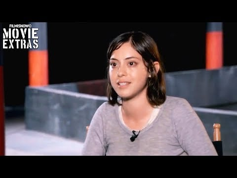 Maze Runner: The Death Cure  Onset visit with Rosa Salazar