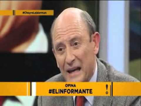 El Informante: Juan Emilio Cheyre v/s Ernesto Lejderman Part. 2