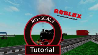 Roblox - Ro-Scale Tutorial #3: Trains