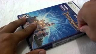 [Unboxing - Xbox360] Kinect Disneyland Adventures - PT-BR