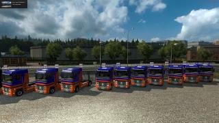 Euro Truck Simulator 2 - Game play ao vivo #23