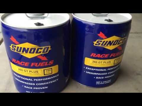 Sunoco Race Fuel 104 Octane 5 Gallon Weight