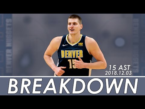 HOW NIKOLA JOKIC DISHED OUT 15 ASSISTS