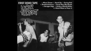 Minor Threat - First Demo Tape ( Full Album )