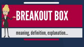 What is BREAKOUT BOX? What does BREAKOUT BOX mean? BREAKOUT BOX meaning & explanation