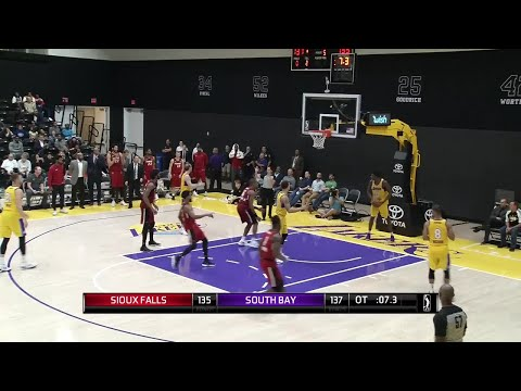 Larry Drew II (19 points) Highlights vs. South Bay Lakers