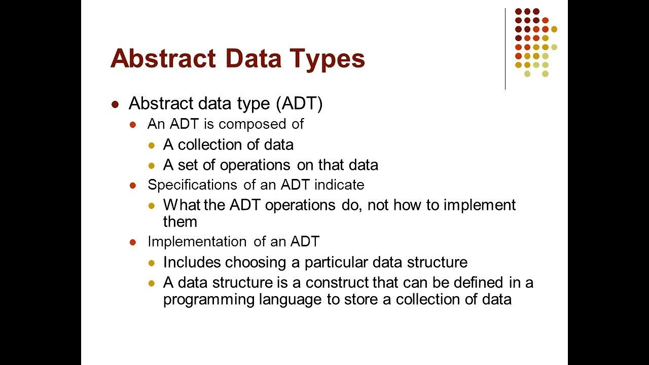 Abstract Data Type in Data Structure (ADT) Tamil - YouTube