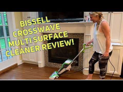 BISSELL Crosswave Multi Surface Cleaner Review #ProductReview