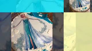 Gambar cover Elsa Karlar Kraliçesi Doğum günü Pastası | Zeynep Rana 5 yaşında