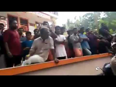 CPIM protest in Kannur