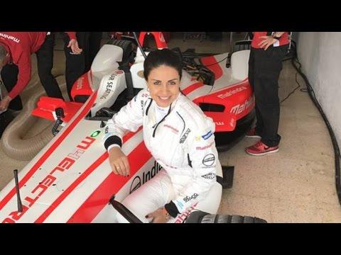 Gul Panag becomes 1st Indian woman to drive Formula E racing car
