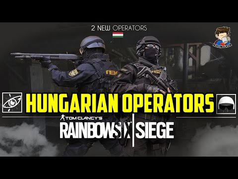 Rainbow Six Siege Hungarian Operators Tech  Eagle Hungary Special Forces TEK Chemical Works Fan Made