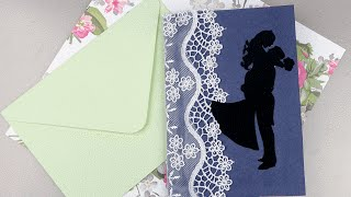 Приглашение на свадьбу «Пара» своими руками