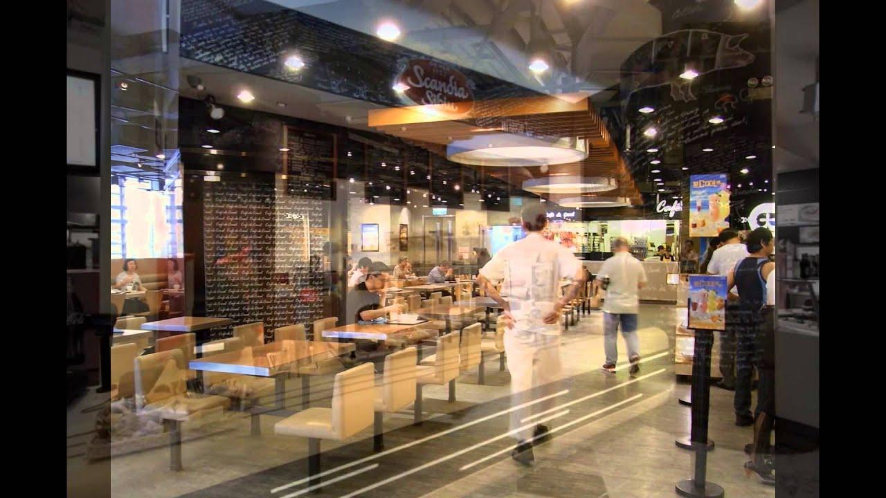 Fast Food Restaurant Design Layout Kitchen and Interior ...