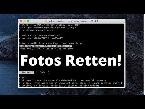 Tutorial: Verlorene/Gelöschte Dateien Von SD-Karte Oder Festplatte Wiederherstellen! (kostenlos)
