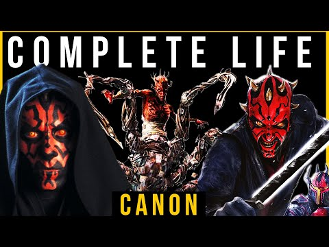 Darth Maul: COMPLETE Life Story (Canon 2020) Part 1