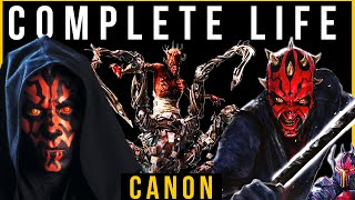 Download Darth Maul: COMPLETE Life Story (Canon 2020) Part 1 Mp3 and Videos