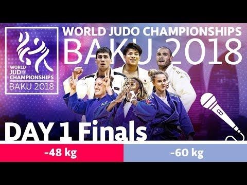 World Judo Championships 2018: Day 1 - Final Block