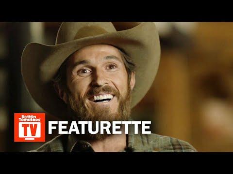 Yellowstone Season 1 Featurette  'Cowboy Camp'  Rotten Tomatoes TV