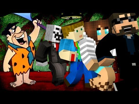 Minecraft: FLINTSTONE YOUTUBER MURDER | MODDED MINI-GAME
