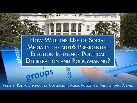 Social Media Use in the 2016 Presidential Election
