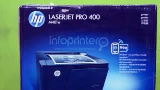 Review HP LaserJet Pro 400 M40…