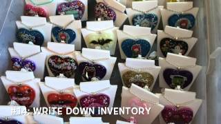 Craft Wednesday #2: 37 Tips and Tricks for DIY Craft Fair for Beginners