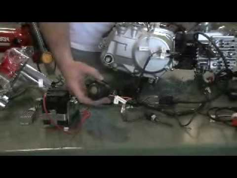 CT70 12v Trouble-Free Wiring kit - YouTube