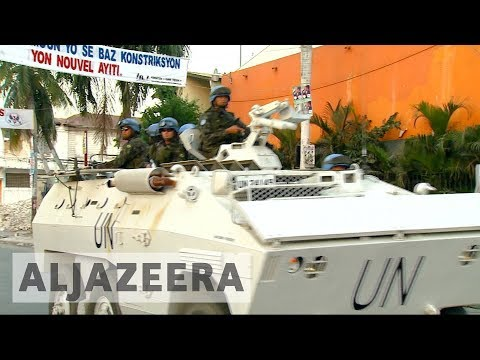 UN peacekeepers pulling out of Haiti with controversial legacy
