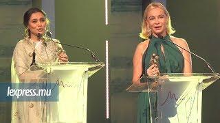 Mauritius Cinema Week: Rani Mukerji et Emmanuelle Béart récompensées
