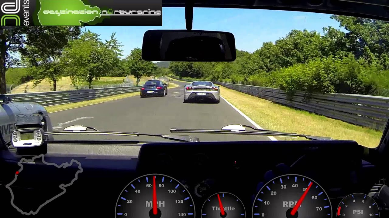 Golf mk2 vs supercharged ariel atom dn10 nurburgring with dale driving the atom